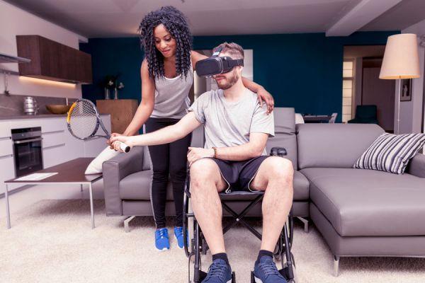 Realidad aumentada. Realidad combinada. Tecnologías de realidad virtual.