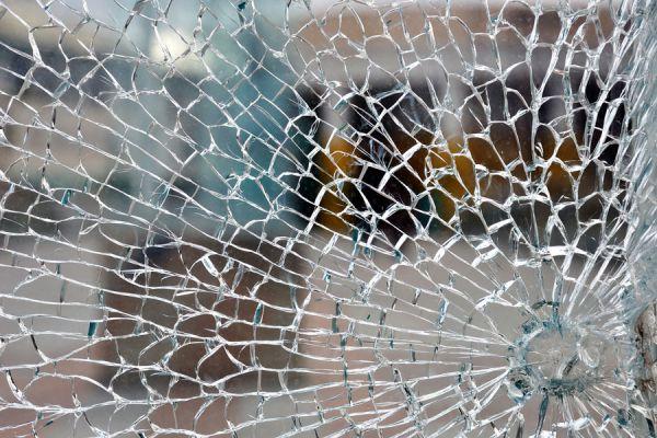 Método para hacer vidrio craquelado falso. cómo hacer falso craquelado paso a paso.  Técnica de falso vidrio craquelado