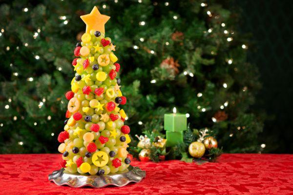 Receta para hacer un bizcochuelo en navidad. Pino de chocolate para Navidad. Arbol navideño de chocolate