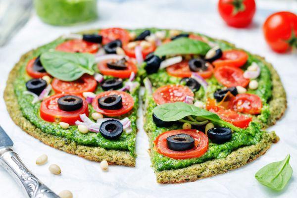 Mini pizzas sin gluten. Pizzas caseras sin harinas.