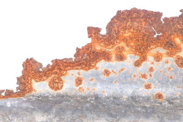 Al galvanizar objetos también puedes crear el efecto oxidado sobre las superficies.