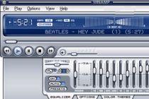 Efecto beat en ventana principal de Winamp 5