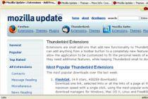 Como instalar y añadir extensiones al Mozilla Thunderbird