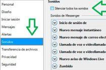 Como cambiar los sonidos del Messenger