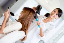 Cómo cortar el cabello y peinar un rostro triangular