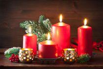 Ideas para Decorar Velas en Navidad
