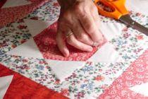 Cómo hacer un cabecero con telas