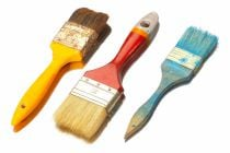 Cómo limpiar las herramientas de pintura
