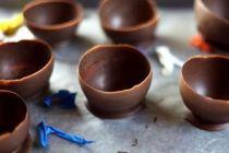 Cómo hacer compoteras de chocolate
