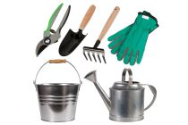 Cómo mantener y cuidar el set de jardinería
