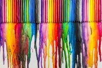 Cómo Pintar un Lienzo con Crayones Derretidos