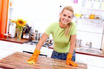 Cómo Limpiar las Superficies de la Cocina