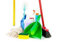 Herramientas y productos para la limpieza del hogar