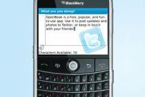 Cómo usar Twitter en el Blackberry