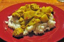 Cómo hacer curry de pollo