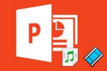 Cómo elegir audio y video en presentaciones de PowerPoint