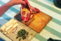 Cómo hacer carne rellena a la parrilla - Video