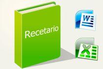 Cómo Crear tu Recetario en Word o Excel