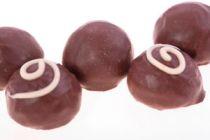 Bombones de Menta con Chocolate Caseros