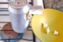 Cómo Hacer Pochoclo en una Lata de Aluminio