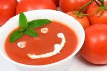 Receta de Sopa Casera de Tomates