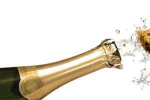 Ilustración de Cómo conservar botellas de champagne