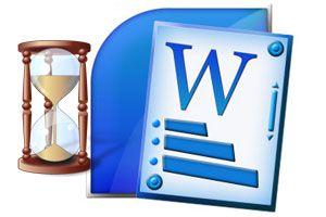 Ilustración de Abrir documentos de Word más rápido