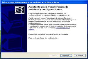 Recuperar o trasladar la configuración y archivos de una PC a otra