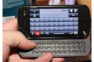 Ilustración de Habilitar el uso de texto predictivo o diccionario en celulares Nokia