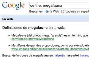 Encontrar la definición de una palabra en google