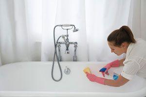 Trucos y consejos para limpiar la bañera. Cómo quitar manchas de la bañera. Uso de productos naturales para la limpieza de la bañera