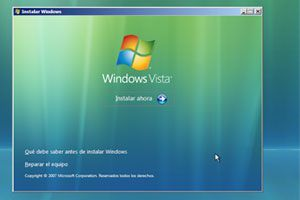 Ilustración de Como utilizar el disco de arranque de Windows Vista