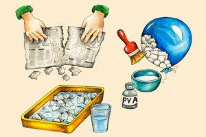 Ilustración de Cómo hacer Cartapesta