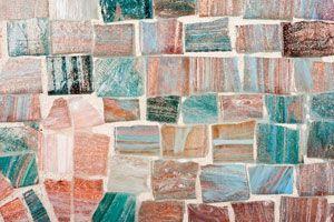 Ilustración de Como decorar con mosaicos