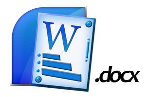 Cómo Abrir Archivos con la Extensión .docx