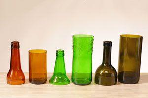 Ilustración de Cómo Cortar una Botella de Vidrio