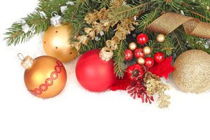 Ilustración de Cómo decorar la casa en Navidad