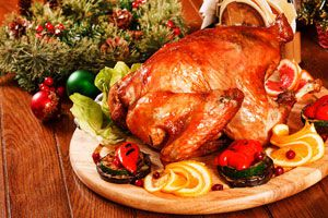 Cómo preparar el pavo de Navidad
