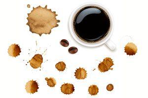 Ilustración de Cómo Eliminar las Manchas de Café en la Ropa