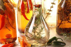 Cómo preparar vinagres saborizados