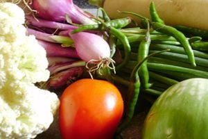 Cómo conservar el color de las verduras al cocinarlas