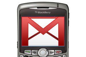 Ilustración de Cómo configurar Blackberry para acceder a una cuenta de Gmail
