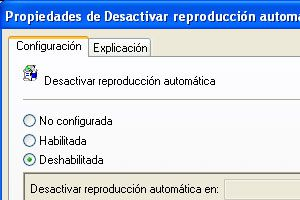 Ilustración de Como deshabilitar la reproducción automática de CD o DVD