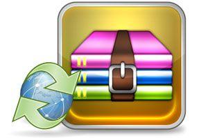 Ilustración de Cómo actualizar o instalar  WinRAR