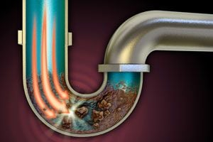 Las tuberías se pueden destapar con métodos caseros