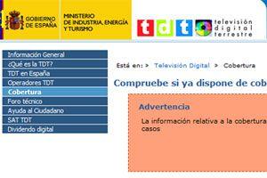 Ilustración de Cómo saber si tengo cobertura TDT (España)
