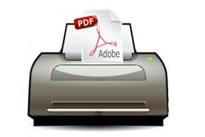 Ilustración de Como Imprimir a un Archivo PDF
