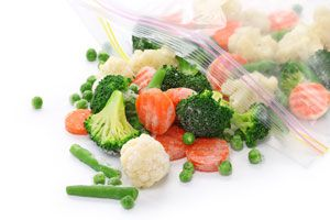 Ilustración de Cómo Congelar Verduras