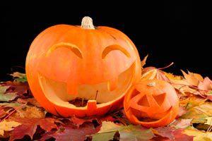 Ilustración de Cómo preparar una calabaza para Halloween