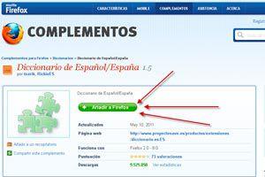 Ilustración de Como instalar un diccionario en Firefox